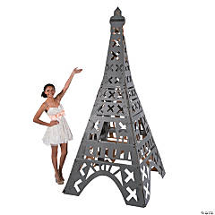 3D Eiffel Tower Cardboard Stand-Up