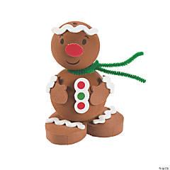 3D Gingerbread Man Craft Kit