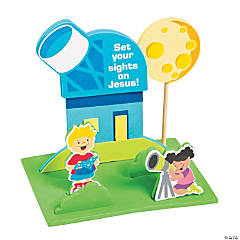 3D God's Galaxy VBS Observatory Craft Kit