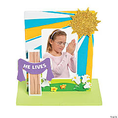 3D He Lives Picture Frame Craft Kit