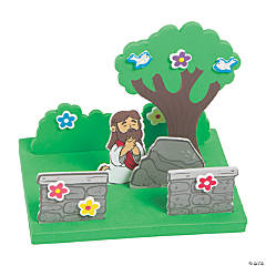 3D Jesus in the Garden Craft Kit