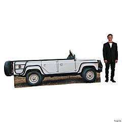 3D Jungle Jeep Cardboard Stand-Up