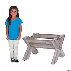 3D Manger Cardboard Stand-Up