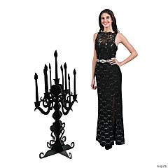 3D Masquerade Ball Candelabra Stand-Up