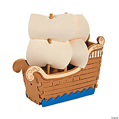 3D Mayflower Ship Craft Kit