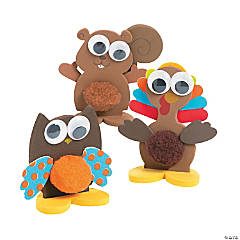 3D Pom-Pom Fall Pals Craft Kit