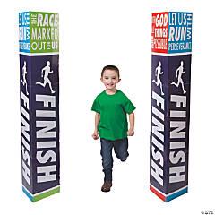3D Sports VBS Finish Line Cardboard Stand-Ups