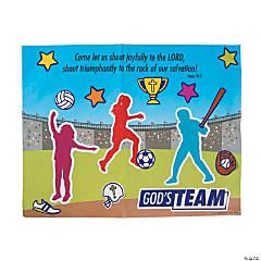 3D Sports VBS Sticker Scenes