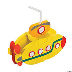 3D Submarine Craft Kit