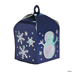 3D Winter Tissue Paper Lantern Craft Kit