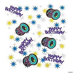 40th Birthday Party Continues Confetti