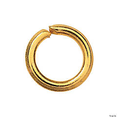 4mm Goldtone Metal Jumprings