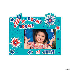 4th of July Picture Frame Magnet Craft Kit