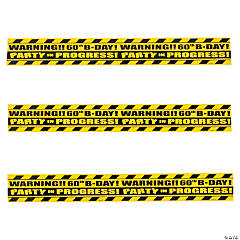60th Birthday Party Crime Scene Tape