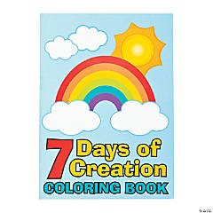 7 Days of Creation Coloring Books