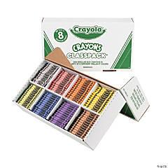 8-Color Crayola® Crayons Classpack