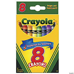 8-Color Crayola® Crayons