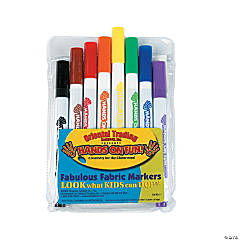 8 pc. Fabulous Fabric Markers