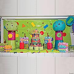 80's Candy Buffet Idea