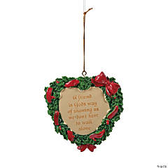 """""""A Friend Is God's Way..."""" Christmas Ornaments"""