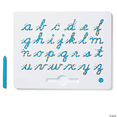 a to z Cursive Lower Case Magnatab Magnetic Drawing Tablet