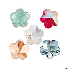 AB Finish Flower Beads - 10mm