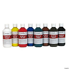 Acrylic Paint Set - 8 oz.