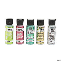Acrylic Paint Set – Christmas Glitter