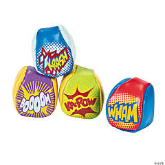 Action-Packed Superhero Kickball Assortment