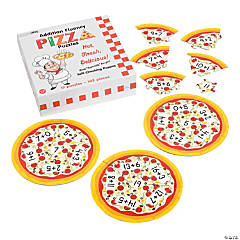 Addition Fluency Pizza Puzzles