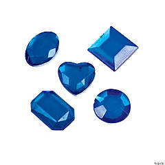 Adhesive Jewels - Blue