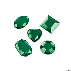 Adhesive Jewels - Green