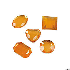 Adhesive Jewels - Orange