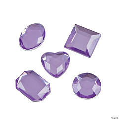 Adhesive Jewels - Purple