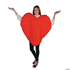 Adult Heart Costume - Standard