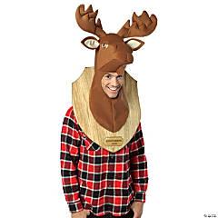 Adult Loose Moose Trophy Costume Headpiece
