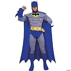Adult Man's Deluxe Muscle Batman™ Costume