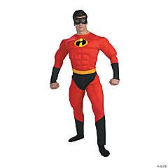 Adult Man's Muscle Mr. Incredible Costume