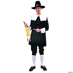 Adult Men's Pilgrim Costume