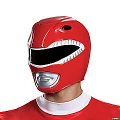 Adult Red Power Ranger Helmet