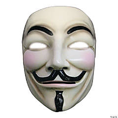 Adult's Deluxe V for Vendetta™ Mask