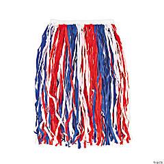 Adult's Patriotic Hula Skirt