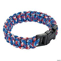 Adult's Patriotic Paracord Bracelets