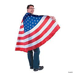 Adult's USA Flag Cape