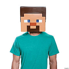 Adult Steve Minecraft Mask