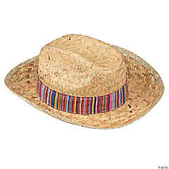 Adult's Fiesta Straw Hat