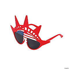 Adult's Patriotic Liberty Sunglasses
