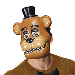 Adult's 1/2 Freddy Mask