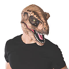 Adult's 3/4 T-Rex Mask