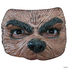 Adult's & Kids' Half Wolf Mask